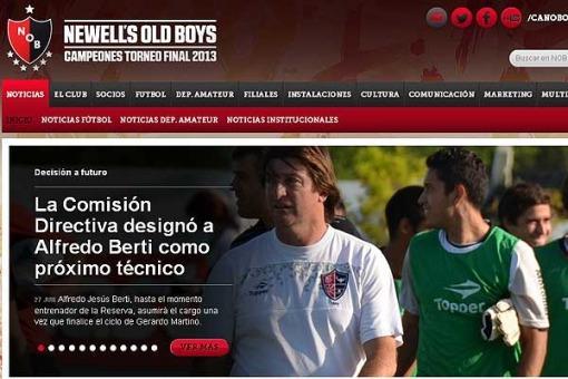 Alfredo Berti será el reemplazante de Gerardo Martino en Newell's