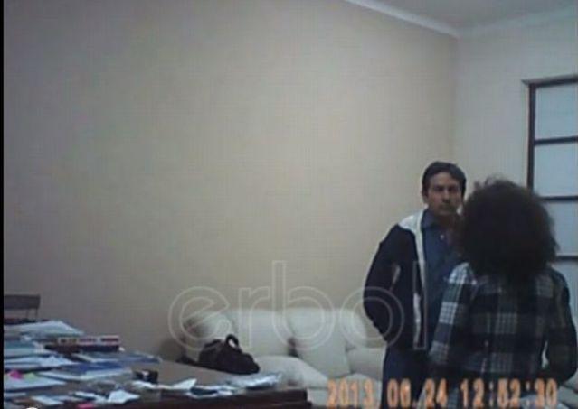 Video: Brutal golpiza de ex embajador boliviano en la OEA a su secretaria