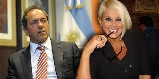 Scioli habló de su romance con Carmen Barbieri