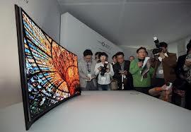 Nuevo TV OLED curva