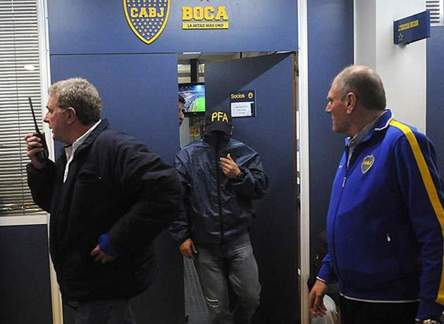 El juez Oyarbide ordenó allanar Boca Juniors