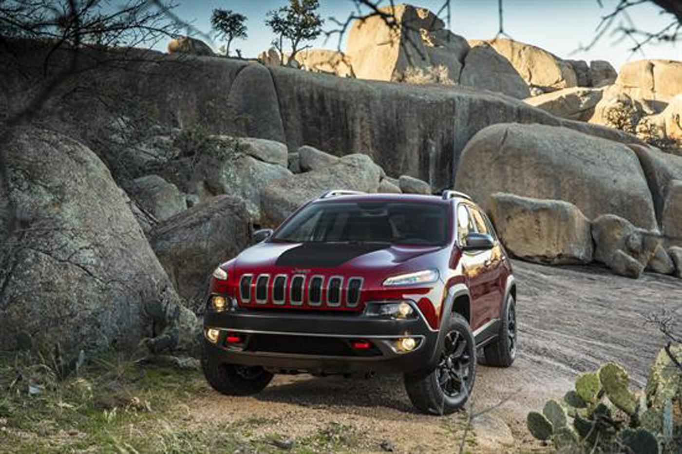 Este es el nuevo Jeep Cherokee 2014 con 9 velocidades !