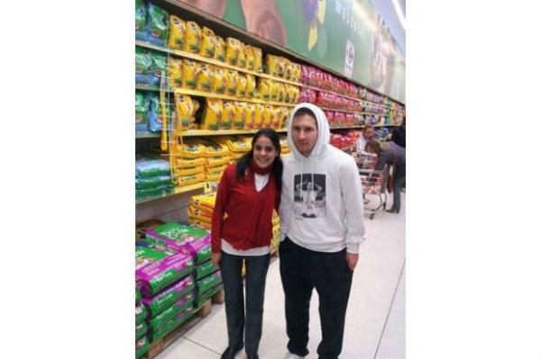 Messi en el súpermercado