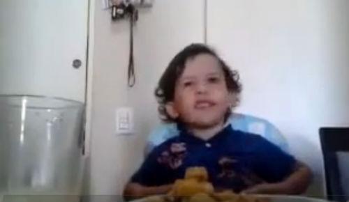 Video: Un niño explica por qué no se debe comer carne