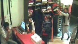 Video: Así robaron un local de ropa en Barrio Norte