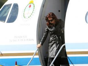 "Cristina Kirchner: ""Calma, no van a poder"", aseguró a Evo Morales y a sus pares de UNASUR"