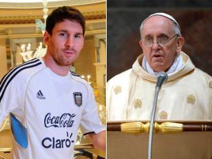 Patido amistoso entre Argentina e Italia en homenaje al Papa Francisco