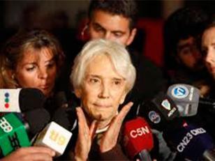 """La abuela de Ángeles Rawson agradeció todas las """"muestras de afecto recibidas"""""""