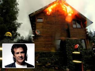 Incendio en la casa de Víctor Heredia