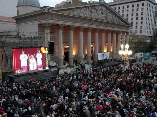 Jornada Mundial de la Juventud se podrá seguir en pantallas gigantes en Plaza de Mayo