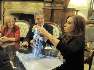 Cristina habló sobre su nieto Néstor Iván por Twitter