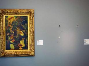 La madre de un ladron quema pinturas de Picasso, Matisse y Monet