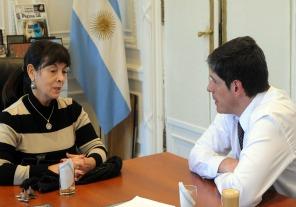 Abal Medina y Susana Trimarco cierran seminario sobre trata