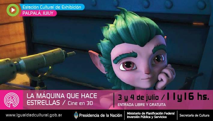 Igualdad Cultural lleva el cine 3D a Palpalá