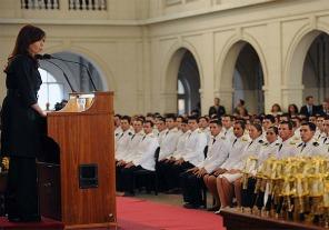 Cristina pondrá en funciones a los nuevos jefes de las Fuerzas Armadas