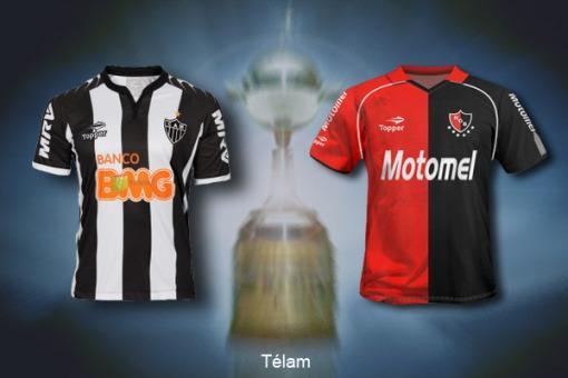 Newell's va en busca de la final de la Copa Libertadores ante Atlético Mineiro