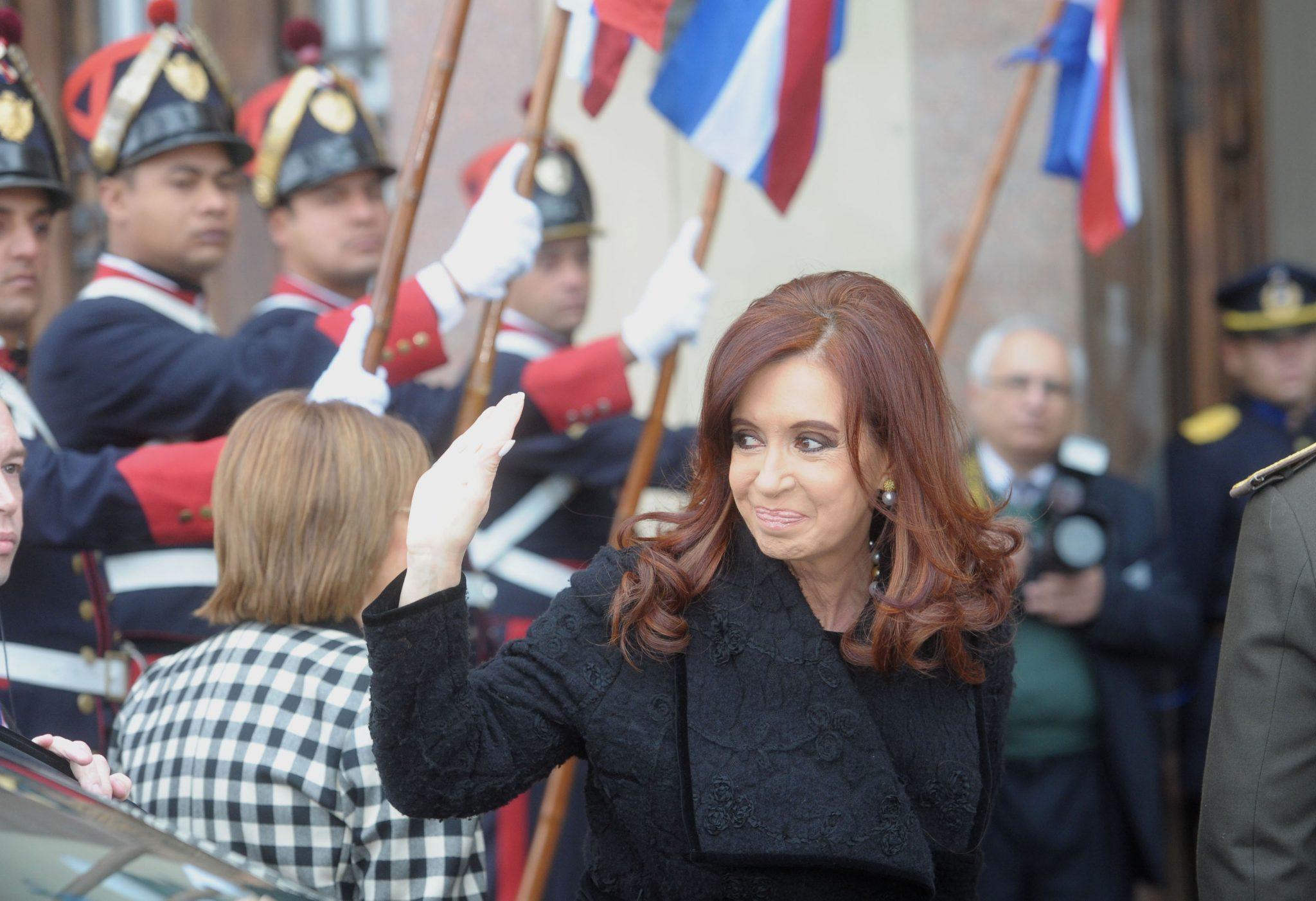 Cristina Kirchner participa de la Cumbre con sus pares del Mercosur