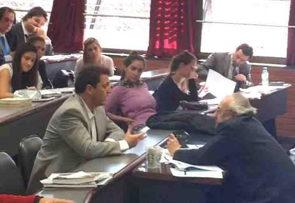 Sergio Massa se recibió de abogado con un 9 en plena campaña