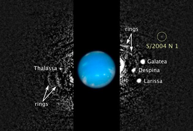Descubren nueva luna orbitando Neptuno