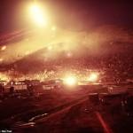 Aparecen fotos inéditas de guerra nocturna en Vietnam 1970