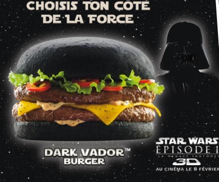 Burguer King vende una hamburguesa negra