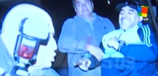 El video de Maradona Golpeando al fotógrafo