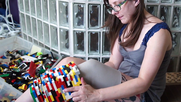 Video : Se hizo una prótesis con piezas de lego