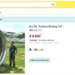 Aerolíneas Argentinas vende partes de aviones por MercadoLibre