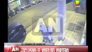 Caso Angeles: Aparece un nuevo video del Portero horas después de la muerte de Ángeles Rawson