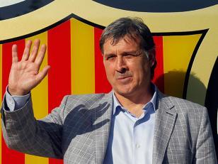 Martino debuta como técnico del Barcelona