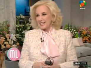 Mirtha Legrand volvió con sus clásicos Almuerzos