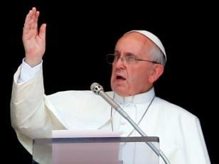 """El Papa a los jóvenes:  Sigan """"a Jesucristo y no a Francisco"""""""