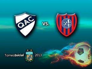 San Lorenzo busca la victoria ante Quilmes