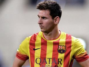 Messi tiene hematoma en el muslo