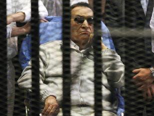 Mubarak abandonó la prisión
