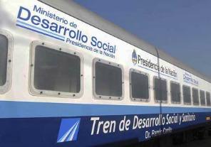 El Tren Sanitario atiende en San Pedro