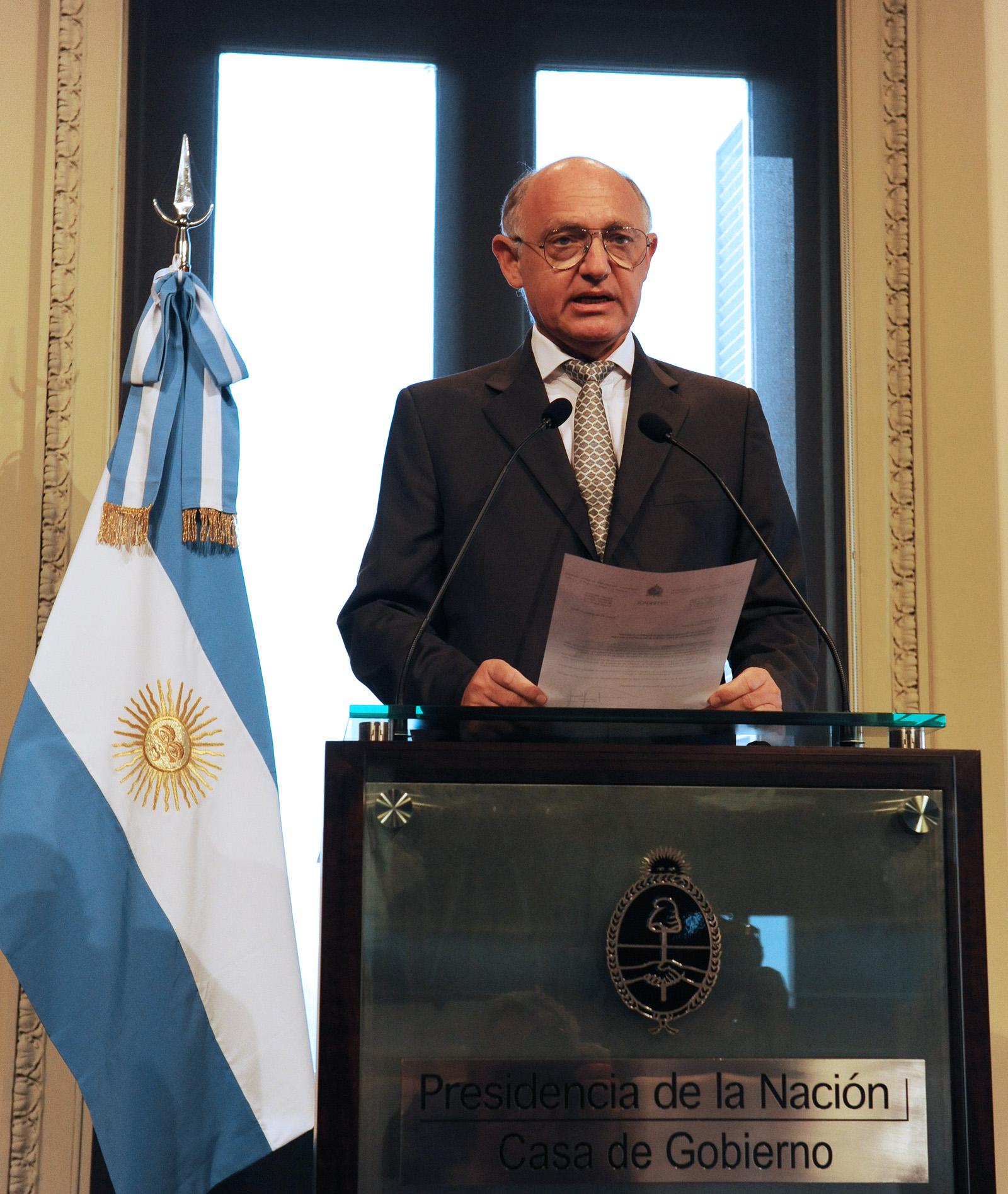 Timerman invitó a su par de Paraguay a visitar la ciudad de Buenos Aires
