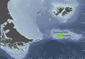 Area natural protegida en el sur del mar argentino