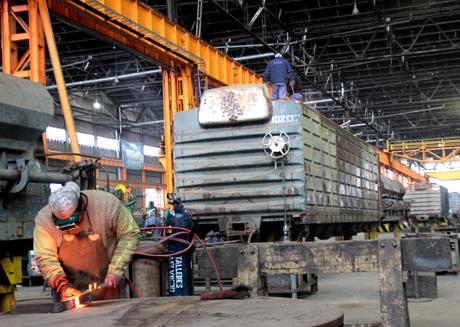 Tafí Viejo: refuerzan la actividad en talleres ferroviarios