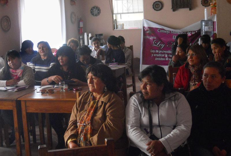 Taller de comunicación y género de Mujeres en Jujuy