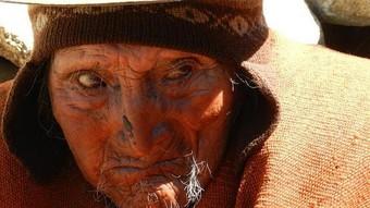 Tiene 123 años, es el indigena mas viejo del mundo con 16 nietos y 39 bisnietos