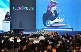 Cristina anuncia el Programa Agrovalor en Tecnópolis