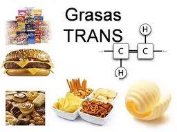 Qué son las grasas trans y que alimentos las tienen?