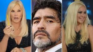 Maradona denuncia penalmente a Susana Gimenez