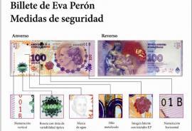 Lanzan otra variante de los billetes de 100 pesos