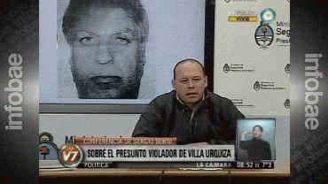 """Berni confirmó que el psicólogo detenido es el violador de Villa Urquiza: """"Es un psicópata"""""""