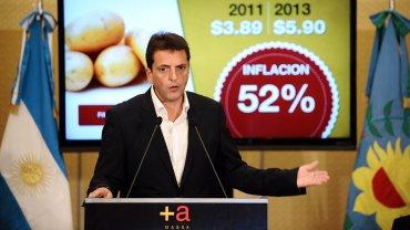 Massa presentó un plan para combatir la inflación