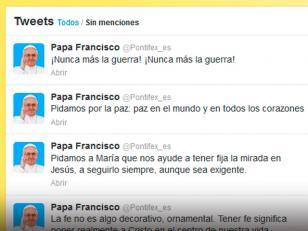 Papa Francisco: '¡Nunca más la guerra!'