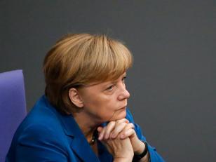 """Merkel : """"Fui okupa"""""""