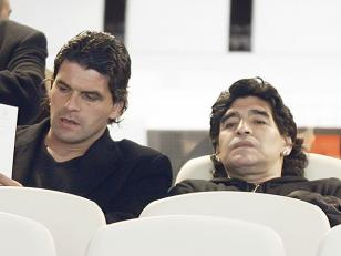 Maradona ratifica la denuncia contra Mancuso